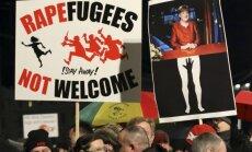 Legida protestas Leipcige