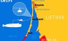 Numanomi Rusijos operacijos tikslai Lietuvos pajūryje
