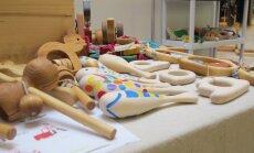 Dauguma parodos dalyvių orientuojasi į ekologiškus žaislus