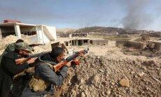 Irako kurdų puolimas Sindžare