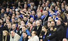 Chelsea klubo fanai
