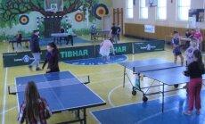 Daugėlių mokykloje – stalo teniso varžybos