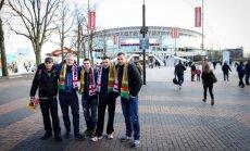 Sirgaliai renkasi į Wembley stadioną