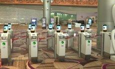 Naujame Singapūro oro uosto terminale - registracija skrydžiui be aptarnaujančio personalo