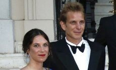 Andrea Casiraghi ir Tatiana Santo Domingo