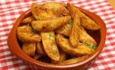 Traškios, aštrios bulvytės