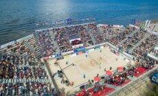 Europos paplūdimio tinklinio čempionato finalas šiemet vyks Jūrmaloje