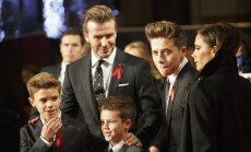 Davidas Beckhamas ir Brooklynas, Romeo ir Cruzas