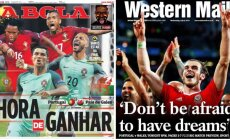 Artėja pirmasis Euro 2016 pusfinalio mūšis (Twitter nuotr.)