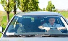 Besimokantis, pradedantis vairuotojas