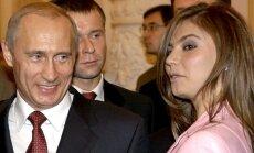 Vladimiras Putinas ir Alina Kabajeva