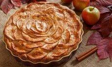 Lengvas obuolių pyragas