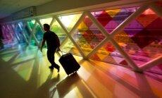 Spalvingos instaliacijos Majamio Tarptautiniame oro uoste
