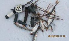 Konfiskuotos žvejybos priemonės