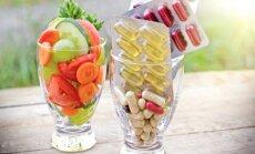 Vaisiai ir daržovės ar maisto papildai?