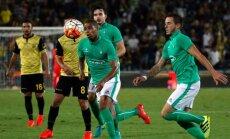 St. Etienne futbolininkai atakuoja
