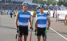 Karolis Dombrovskis ir Tomas Kaukėnas (Lietuvos biatlono federacijos nuotr.)