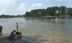 Salotės ežeras Pilaitėje