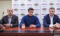 Justinas Kinderis, Andrejus Zadneprovkis ir Gintaras Staniulis