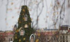 Kalėdų eglutė Vilniaus Katedros aikštėje