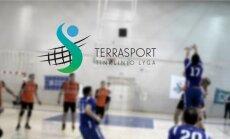 """""""Terrasport"""" tinklinio lygos finalo plakatas."""