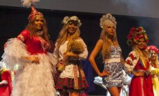 Miss USSR UK 2016 (Agnė Skopaitė - antra iš kairės)