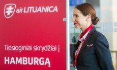 Air Lituanica skrydis į Hamburgą