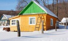 5 patarimai, kaip žiemos metu apsaugoti savo sodybas ir sodo namelius nuo vagysčių