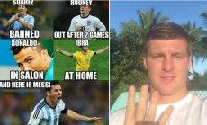 Lionelis Messi ir Toni Kroosas
