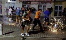 Rusų ir anglų futbolo sirgalių konfliktas