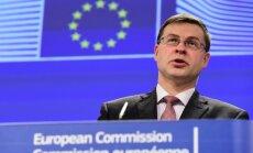 EK viceprezidentas Valdis Dombrovskis