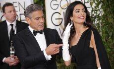 George'as Clooney ir Amal Clooney