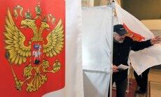 Rusijoje vyksta prezidento rinkimai