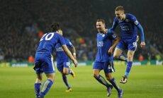 Leicester klubas prieš metus tokiu metu buvo paskutinis