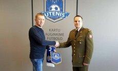 Utenis pasirašė sutartį su Lietuvos kariuomene (klubo nuotr.)