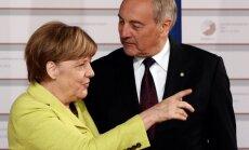 Angela Merkel, Andris Bėrzinis