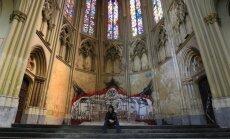 Apleista bažnyčia Briuselyje