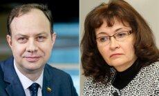 Aurelijus Veryga ir Rima Baškienė