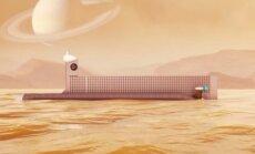 NASA povandeninis laivas Titano jūroms tyrinėti