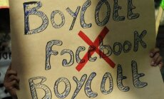 Facebook boikotas