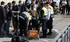 Asociatyvi nuotrauka – Jeruzalėje du palestiniečiai peiliu subadė tris izraeliečius