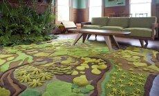 Augaliniai motyvai interjere: nuo imitacijų iki išskirtinio dizaino