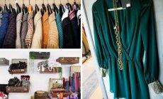 Dėvėtais drabužiais prekiaujantys senamiesčio butikai (Š. Mažeikos ir V. Kopūsto nuotr.)