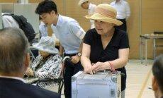 Balsavimas Tokijuje