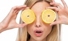 Mergina su citrina