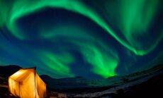 Lietuvės aistra – dirbti Šiaurės pašvaisčių gide