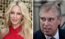 Kylie Minogue ir princas Andrew