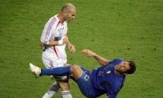 Z. Zidane'as ir M. Materazzi