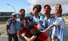 Aistruoliai plūsta į Maracana stadioną prieš pasaulio čempionato finalą