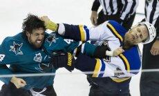 Muštynės NHL mače